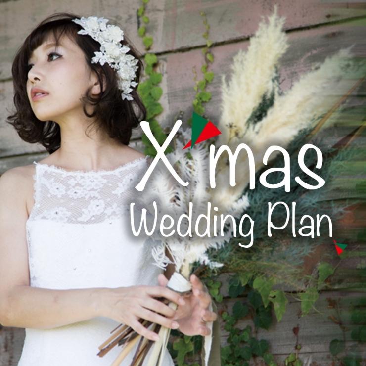 限定3組<br>Xmas Wedding Plan