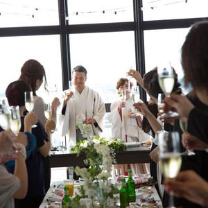 ゲストとのつながりと生まれ育った地域の良さを料理で表現